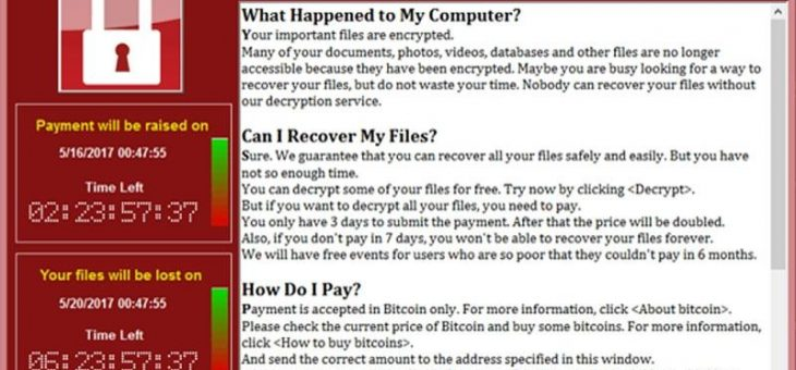 Keep Protected From Ransomware!